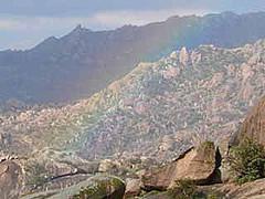 Beşparmak Dağı, Gökkuşağı