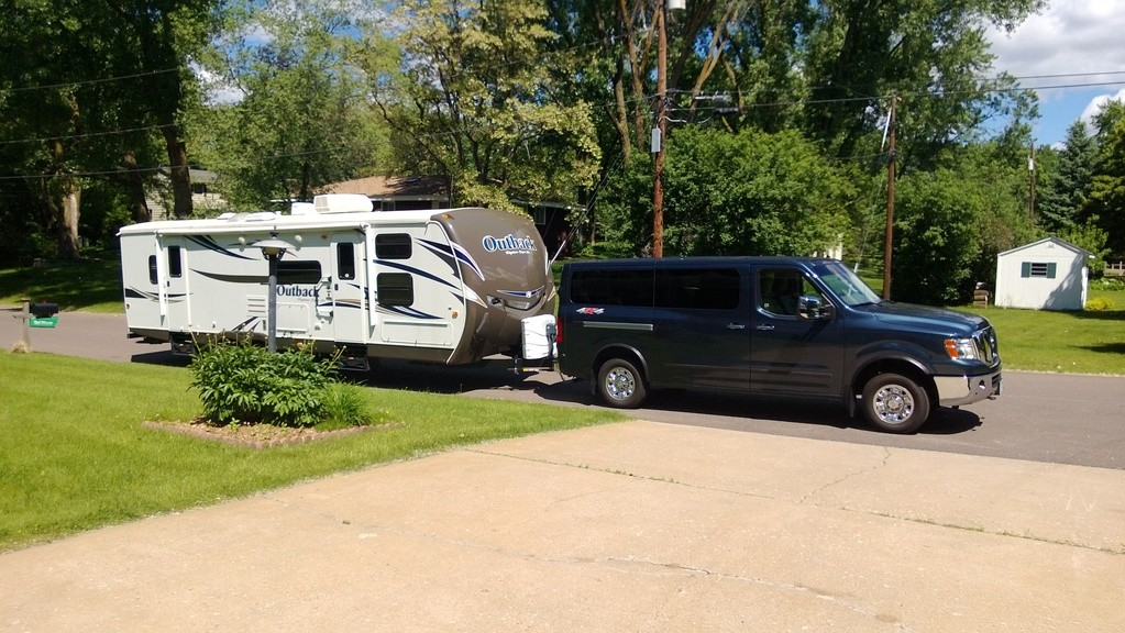 Tundra Towing Capacity >> Towing travel trailer NV 3500HD SL - Nissan NV 3500 HD - Nissan NV Owners Forum